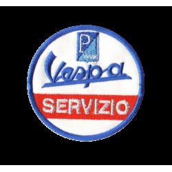 Ecusson Sixties Vespa Servizio