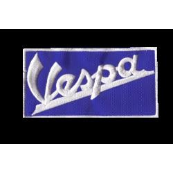 Ecusson Sixties Vespa Bleu