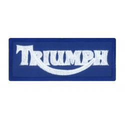Ecusson Triumph bleu