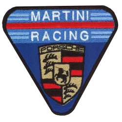 Ecusson Martini Racing...