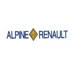 Ecusson Alpine Renault
