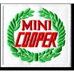 Ecusson Sixties Mini Cooper