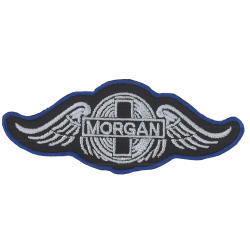 Ecusson Sixties Morgan Noir...