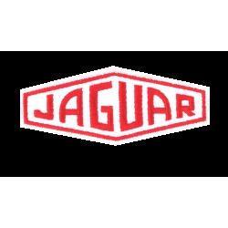 Ecusson Jaguar blanc rouge