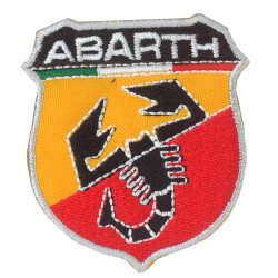 Ecusson Sixties Abarth...