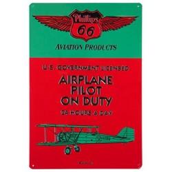 Plaque tôle aviation...