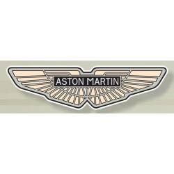 Plaque Emaillée Aston...