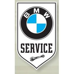 Plaque Emaillée BMW Service...