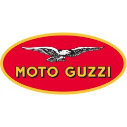 Création plaque de rue MOTO GUZZI