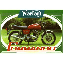 Carte postale Norton Commando