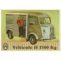 Carte postale Citroën Tôlé H