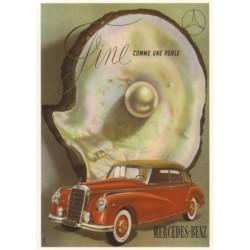 Carte postale Mercedes