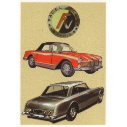 Carte postale Facel Vega