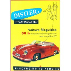 Carte postale Porsche 356
