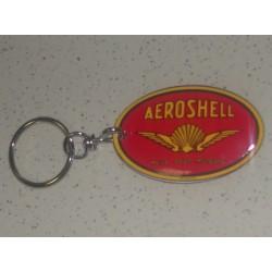 Porte clé Aéroshell émaillé