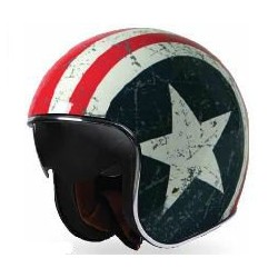 Casque Jet Sprint Rebel Star