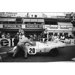 Steve McQueen Le Mans Photo...