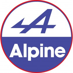 Autocollant ALPINE