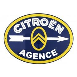 Plaque émaillée Citroën...