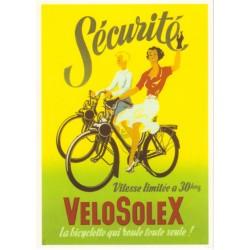 Carte postale Velosolex
