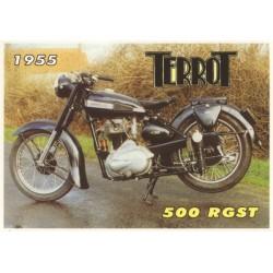 Carte postale Terrot 500 RGST