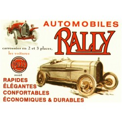 Carte postale Rally
