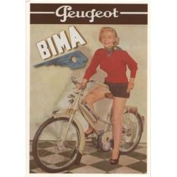 Carte postale Cyclomoteur...