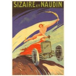 Carte postale Automobiles...