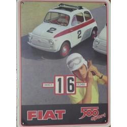 Calendrier Fiat 500 sport