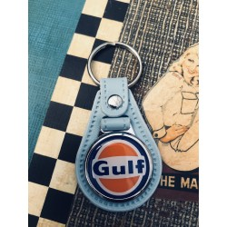 Porte clés Gulf bleu