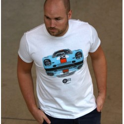 Tee shirt GP 917 ORC BLANC