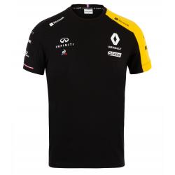 T-shirt Renault F1 noir/jaune