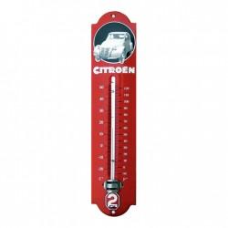 Thermomètre émaillé Citroën...