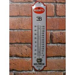 Thermomètre émaillé Bugatti