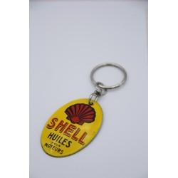 Porte clé Shell émaillé