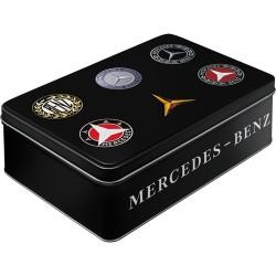 Boite rétro en métal Mercedes