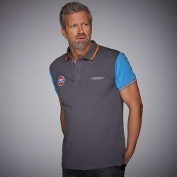POLO GP GRIS BLEU