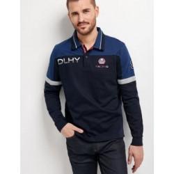 Polo Delahaye marine bleu...