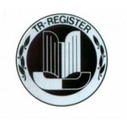 Autocollant TR-REGISTER