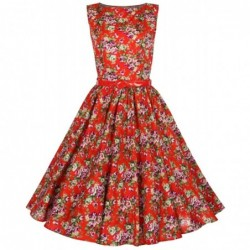 Robe Audrey Rouge