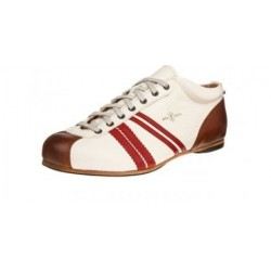 Chaussure LIGUE blanc / rouge