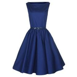 Robe Classy Bleue