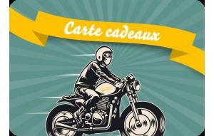 Carte cadeaux moto